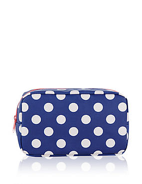 Small Polka Dot Cosmetic Bag