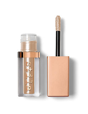 Shimmer & Glow Liquid Eye Shadow 4.5 ml, CHAMPAGNE, catlanding