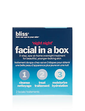Bliss Night Night Facial Box 100ml