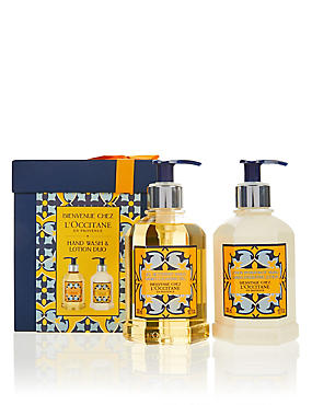 Welcome Home Hand & Lotion Duo Gift Set