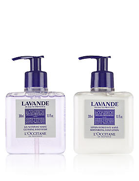 Relaxing Lavender Hand Wash & Lotion Duo