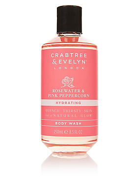 Rosewater & Pink Peppercorn Hydrating Body Wash 250ml