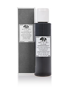 Clear Improvement™ Active Charcoal Exfoliating Powder Cleanser 50g, , catlanding
