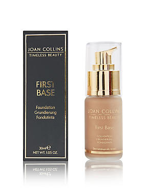 First Base Foundation 30ml, WARM APRICOT, catlanding
