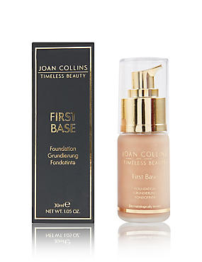 First Base Foundation 30ml, LIGHT PEACH, catlanding
