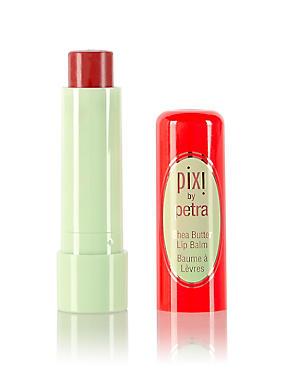 Shea Butter Lip Balm 4g, RED, catlanding