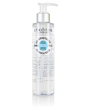 Shea 3-In-1 Cleansing Water 200ml, , catlanding