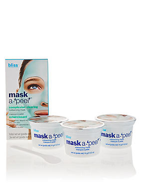 Mask a-'peel' Complexion Clearing Rubberizing Mask, , catlanding
