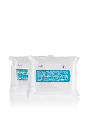 Glacial Cleansing Cloths Duo 200g