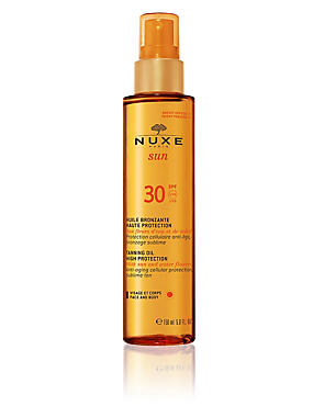 Tanning Oil for Face & Body SPF30 150ml
