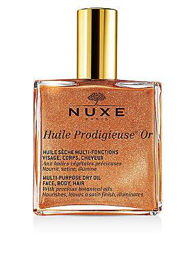 Huile Prodigieuse® Multipurpose Golden Shimmer Oil 100ml, , catlanding
