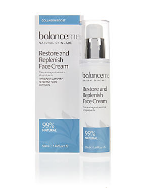 Restore and Replenish Face Cream 50ml, , catlanding