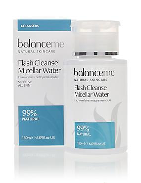 Flash Cleanse Micellar Water 180ml, , catlanding