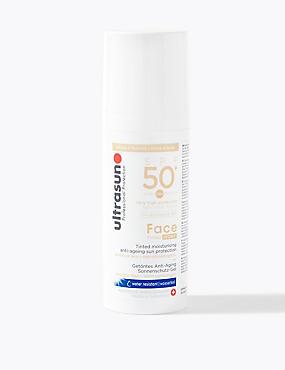Tinted Face SPF50+ 50ml, IVORY, catlanding