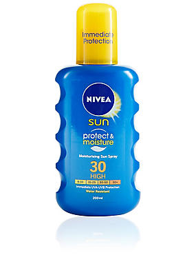 Protect & Moisture Sun Sprays SPF 30 200ml