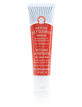 Skin Rescue Deep Cleanser with Red Clay 134g, , catlanding