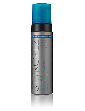 Untinted Bronzing Mousse 200ml