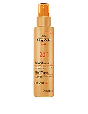 Sun Protection Spray for Face and Body SPF20 150ml, , catlanding