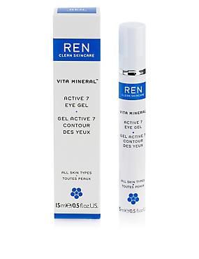 Vita Mineral™ Active 7 Eye Gel 15ml, , catlanding