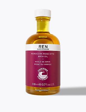 Moroccan Rose Otto Bath Oil 110ml, , catlanding