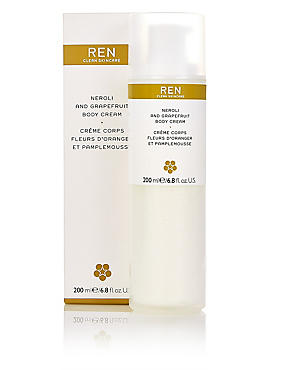 Neroli & Grapefruit Body Cream 200ml