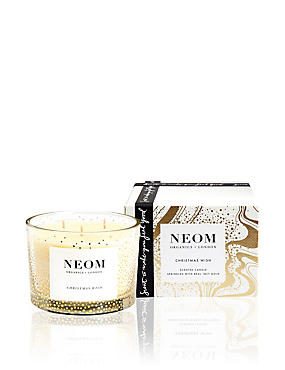 Christmas Wish Scented Candle 3 Wick 350g