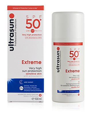 Very High Protection Sun Cream for Ultra Sensitive Skin SPF50+ 100ml Home