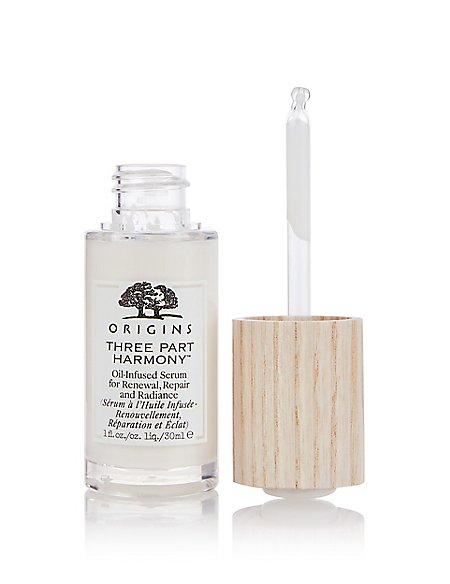 �ล�าร���หารู��า�สำหรั� Origins Three Part Harmony Oil-Infused Serum 30 ml.