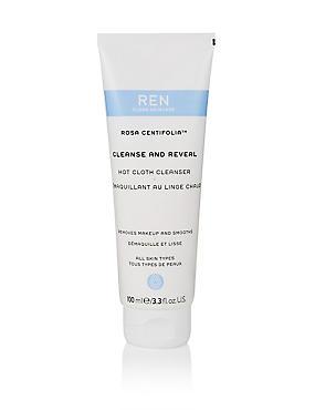 Rosa Centifolia™ Cleanse & Reveal Hot Cloth Cleanser 100ml, , catlanding