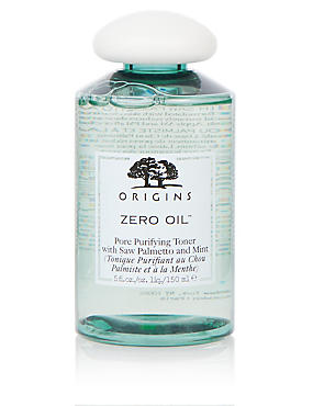 Zero Oil™ Pore Refining Toner with Saw Palmetto & Mint 150ml