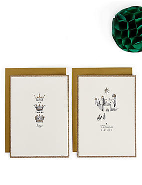 Nativity Christmas Charity Cards Pack of 20, , catlanding