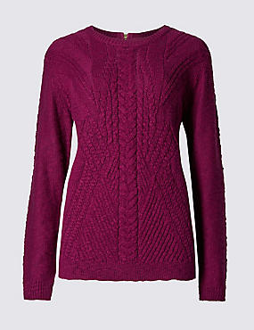 Loose Fit Round Neck Jumper