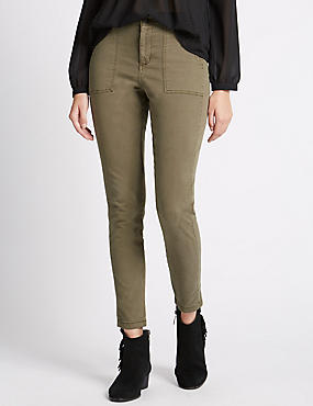 Cotton Rich Cargo Trousers
