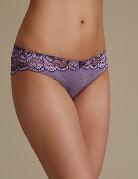 Ornate Lace Brazilian Knickers