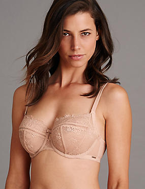 Dentelle Lace Low Set with Non Padded DD-G