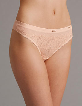 Dentelle Lace Low Rise Thong