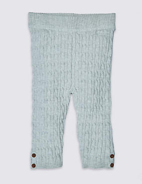 Pure Cotton Knitted Leggings