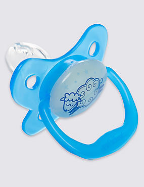 Glow in the Dark Soother 0-6 Months