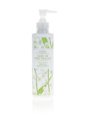 Lily of the Valley Hand and Body Lotion 250ml