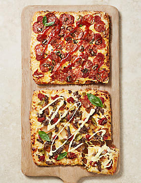 'Philly Steak Out' & 'All Fired Up' Deep & Loaded Pizzas (2 Pizzas)