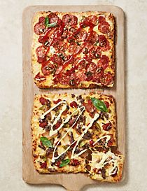 'Philly Steak Out' & 'All Fired Up' Deep & Loaded Pizzas