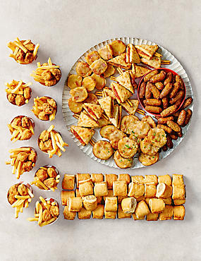 Kids Party Food Selection - 140 Pieces