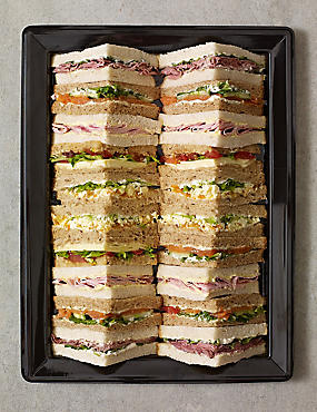 Best of British Sandwich Platter (20 Quarters)