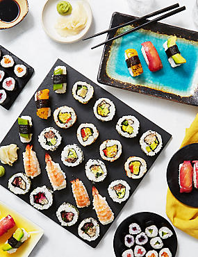Signature Sushi Platter (52 Pieces)