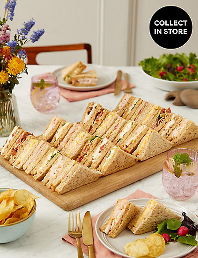 Classic Sandwich Selection 30 Pieces M Amp S