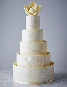 Collections Serenity Chocolate Wedding Cake