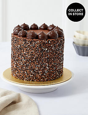 Milk Dark & White Chocolate Layers Cake