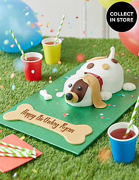Buddy the Puppy Cake (Pre-Order: Available from 15th February 2017)