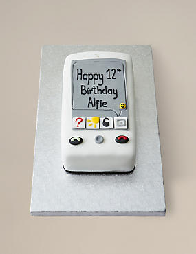 Mobile Phone Cake (Pre-Order: Available from 15th February 2017)