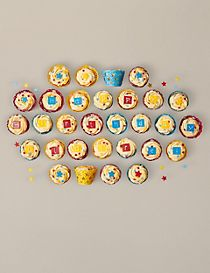30 'Create your own message' Cupcakes